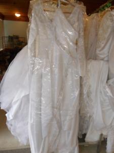 ad # one BIG SALE ON WEDDING DRESSES
