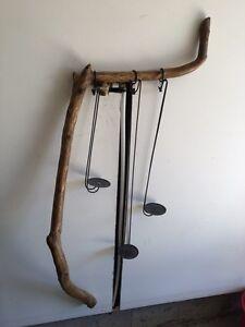 Driftwood Candle Holder (Wall Hung) / Walking Sticks