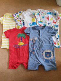 Marks and spencer x6 set size 18 to 24 months onezys.