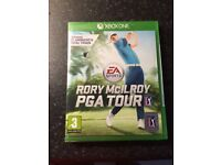 Rory mcilroy PGA tour Xbox one game brand new and sealed