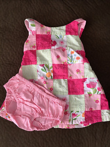 Girls 3-6 month summer clothing Gymboree Carters
