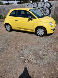 Fiat 500 09reg Sunshine Yellow-LOW INSURANCE GROUP