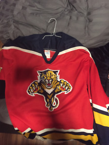 Vintage Florida Panthers Jersey from 1990's XXL