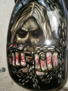 Motorcycle Custom Paint & Airbrushing Windsor Region Ontario image 7