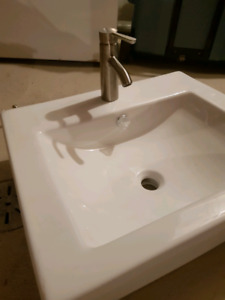Brand new Ikea tap and designer sink
