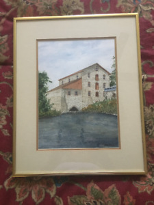 Watercolour  pictures, original, framed.