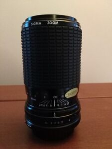 Sigma 80-200mm f/4.5-5.6 Lens for Canon