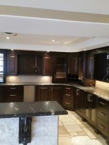 complete home reno, selling all existing high end materials