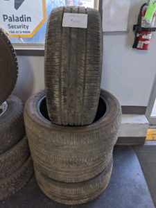 Set of 4, 255/45/19 Goodyear Eagle RS-A tires