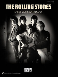Rolling Stones-Sheet music Anthology-Easy Piano-Excellent shape