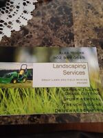 Lawn care and tractor services