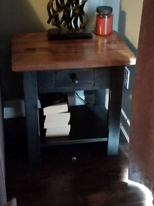 Amish made end table