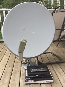 30 inch Satellite Dish plus ViewSat Free To Air Receiver