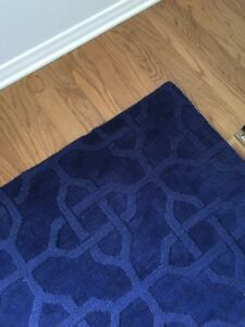 Rug, Like New 8x11 Blue West Island Greater Montréal image 1