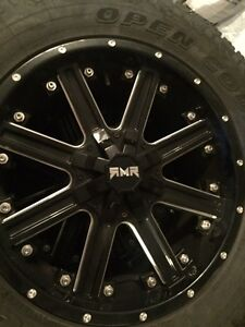 FS: RMR Hellfire 20x9 5X127/5X139.7 with tires