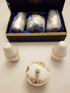 COALPORT CONDIMENT SET-BRAND NEW