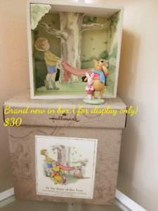 Pooh and piglet collectibles