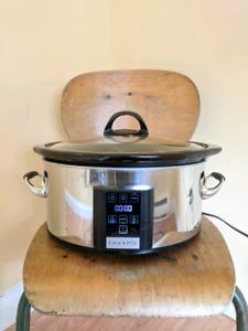 Crock-Pot 6.5 Quart, Touchscreen Slow Cooker