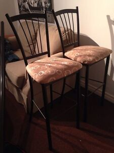 2 matching bar stools SOLD Peterborough Peterborough Area image 1