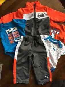 9 month boy Puma outfit