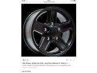 Defender alloy wheels wanted