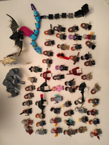 Lego Minifigs collection. Harry potter, Star wars, DC and Marvel