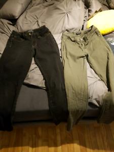 2 paires de jeans