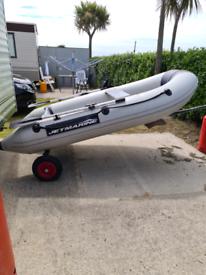 Jet Marine 3m Rib Boat with motor.