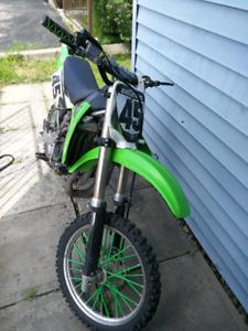 Kawasaki kx85  2009
