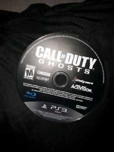 PS3 Game - Call of Duty; Ghosts