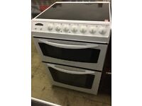 Electrolux 600mm bright white electric cooker