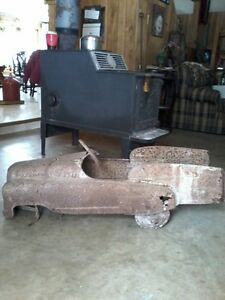 Old firetruck pedal car