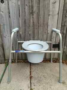 Safety Over the Toilet Seat with Adjustable Frame