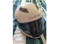 LS2 FF370 flip front helmet with built in sun visor SIZE XL