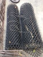 Fencing chain link rolls