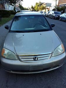 2001 Honda Civic DX-G Berline