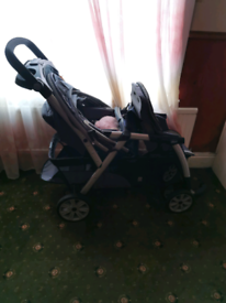 Baby Pushchair Double.