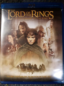 The Lord of the Rings The Fellowship of the Ring Blu-ray and DVD