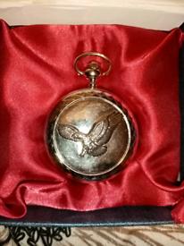Men's rotary pocket watch