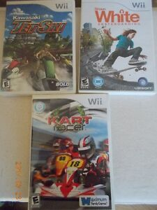 WII GAMES - NEW