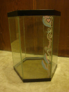 Hexagon Fish Tank (for sale-or maybe trade)