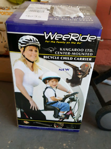 Bicycle child carrier / seat