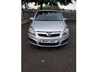 Vauxhall zafira 1.9 CDTI life 120