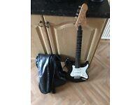 Encore guitar and bag