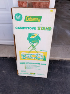 Coleman 9a stand for 4m stove.
