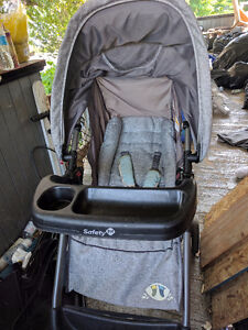 Safety 1st stroller and car seat set