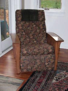 Amish Furniture, Mission Style, Reclining Chair