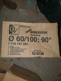 Worcester bosch 7716191084 90° bend