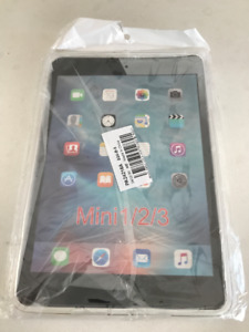 NEW Premium Clear Soft Case for iPad Mini 1, 2, 3 - Sealed pkg