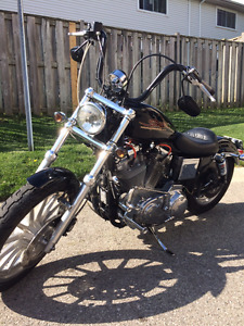 1250 Sportster (upgraded from 883)